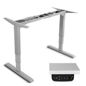 Tischgestell-Schreibtisch-Elektrisch-Hoehenverstellbar-fuer-Buero-Arbeit-Homeoffice