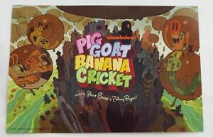 EXCLUSIVE-SDCC-2015-Nickelodeon-PIG-GOAT-BANANA-CRICKET-Promotional-Card-7-x-5