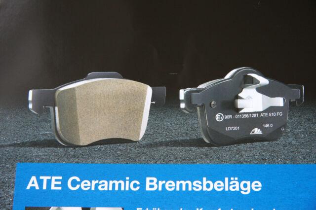 ATE les Plaquettes de Frein en Céramique Audi A3 Quattro et VW Golf 4motion