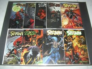 Lot-9-Spawn-issue-119-121-132-134-153-155-all-VF-NM-Image-120-133-154-1541
