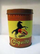 Ancienne boite publicitaire de cigares CHIQUITO