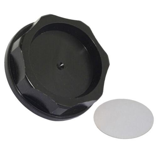 Oil Fuel Filler Fill Tank Cap Cover Black For HONDA ACURA Integra TL Civic