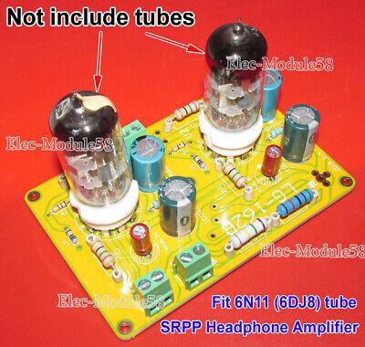 6N11 6DJ8 Vacuum Tube Buffer Preamplifier Preamp SRPP Headphone