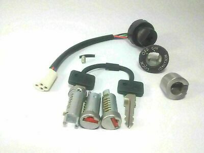 Vespa Barrel Lock PX 125 150 200 Stella 3 Ignition Switch Electric Start 2 Key
