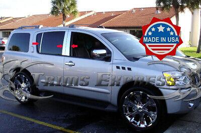 Nissan Armada 05-2015 Chrome Stainless Pillar Posts for Infiniti QX56 04-2010