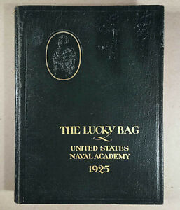 1925-U-S-NAVAL-ACADEMY-YEARBOOK-THE-LUCKY-BAG-Huge-560-Pages-Nicely-Designed