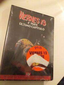 Dvd-VIERNES-13-4PARTE-ULTIMO-CAPITULO-precintado-nuevo