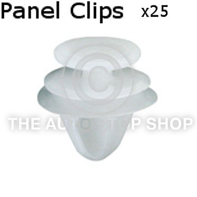 Panel Clips Renault Universal Inc. Megane/Laguna Doors Pannels 25pk 10435re