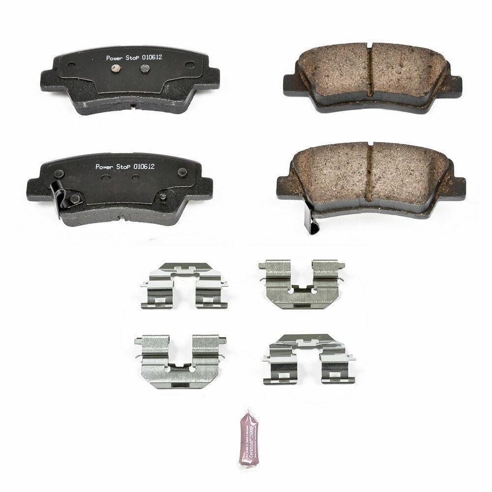 Disc Brake Pad Set Front,Rear Power Stop 17-052