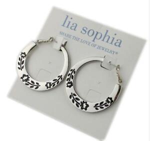 Image Is Loading Lia Sophia Jewelry Garland Earrings Rv 30