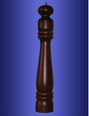 TURKISH BLACK PEPPER GRINDER MILL  MANUAL,42 cm, WOODEN, COUNTRY STYLE