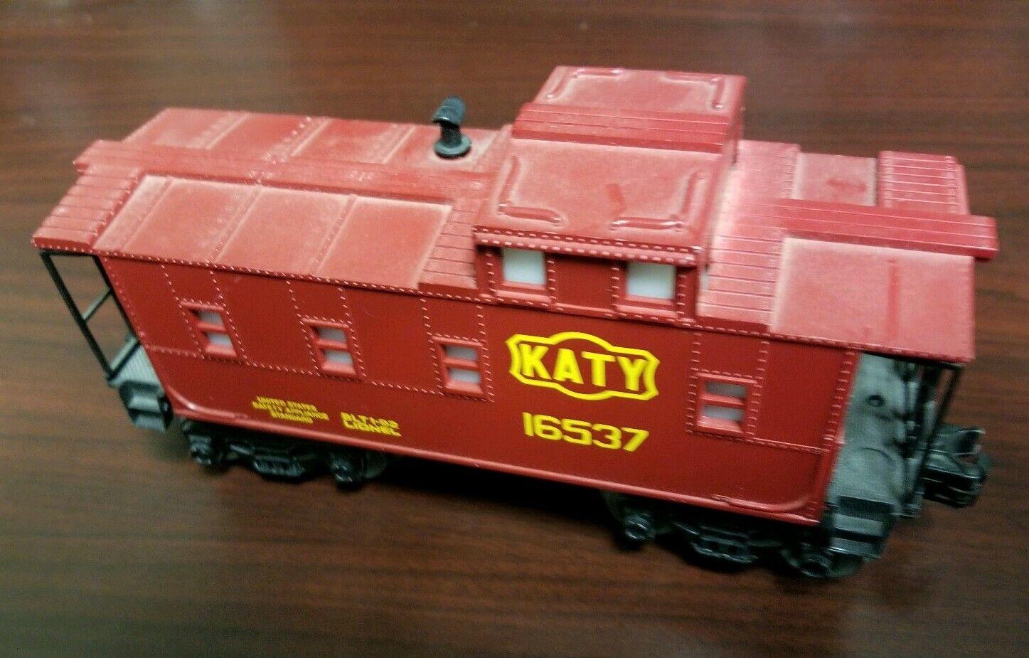 nuovo NO scatola LIONEL modellolo Train auto Katy I6537 BTL 192 Caboose