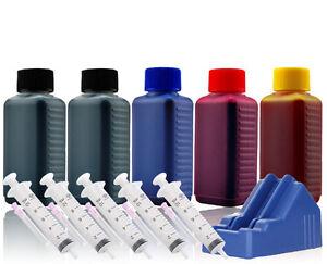 Nachfuell-Tinte-Refillset-fuer-CANON-Drucker-MX-890-MX-895-inkl-Chip-Resetter