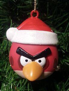Kurt Adler Angry Birds Red Bird Santa Hat