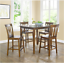 5 piece dining set wood counter height better homes and gardens mainstays cherry