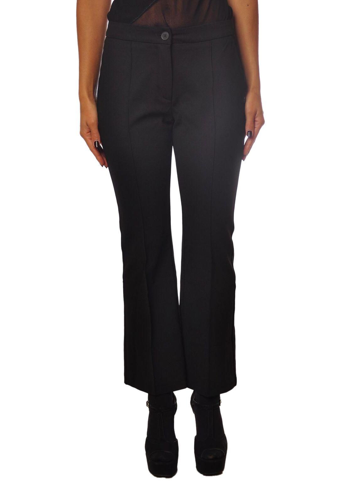 Ottod'ame  -  Pantaloni - women - black - 4186428A180804