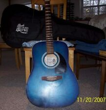 2002 Art and Lutherie Acoustic Guitar and 1992 Fender Stratocaster for sale