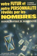 """Livre Esotérisme """" Votre Futur et Votre Personnalité Révélés  """" ( No 1267 ) Book"""