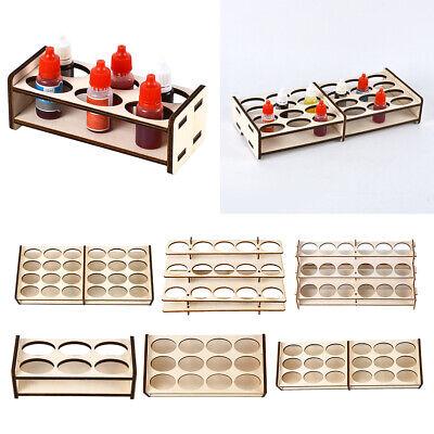DIY Holz Farbhalter Farbrack Farbständer Farben Organisator Werkzeug Ablage