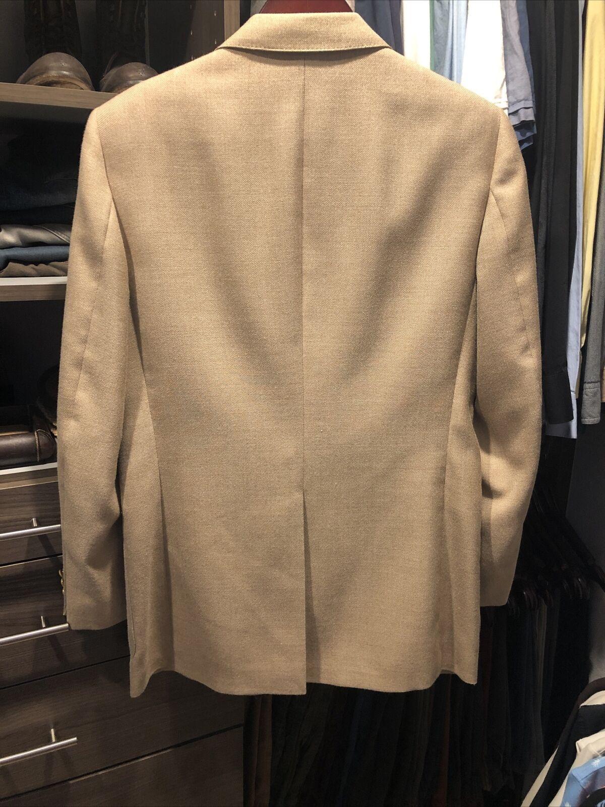 Vintage Lanvin Linen Blazer jacket Men's 42s  197… - image 10