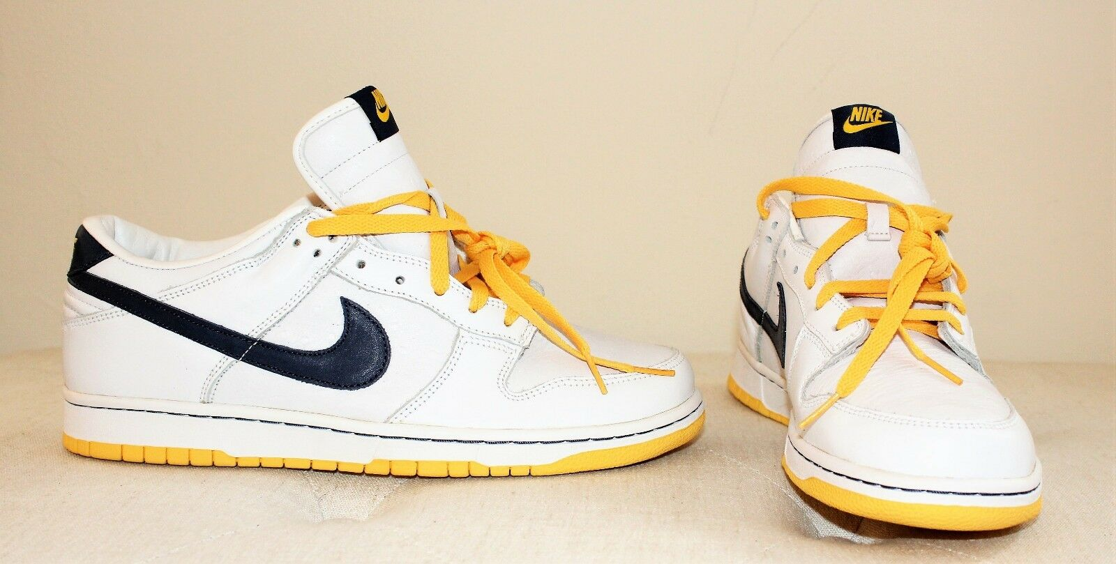f196dfab9a5e Nike Nike Nike Dunk Low ID White   Denim Dijon Yellow StNew in a box ...