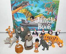 Disney The Jungle Book  Figure Set of 13  Mowgli, King Louie, Baloo,4 Vultures