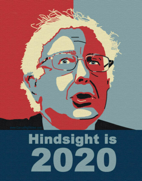 Bernie Sanders decal Magnet Future Belong To US car ps magnets 1 FREE STICKERS