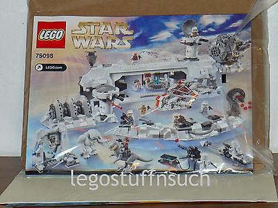 *custom* Lego Star Wars Hoth 4-Tier Power Generator instruction manual only