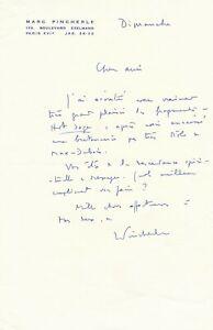 Marc-PINCHERLE-lettre-autographe-signee-plaisir-ecoute-Messager-Max-Dubois
