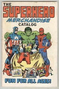 Superhero-Merchandise-Catalog-1975-VG