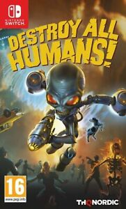 Destroy All Humans Nintendo Switch Brand New Factory Sealed