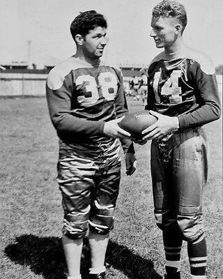 1938 Green Bay Packers DON HUTSON & ARNIE HERBER Glossy 8x10 Photo Poster Print