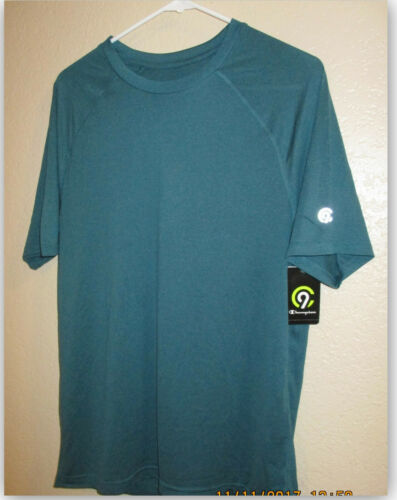 C9 Champion Men/'s Tech T-Shirt Athletic Duo Dry moisture wicking fast dry 15 UPF