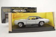 "1:18 Ertl - 1969 PONTIAC GTO ARNIE the farmer BESWICK "" Silver - RARITÄT-neu/OVP"