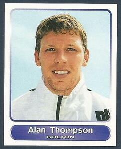 PANINI-SUPERPLAYERS-1998-321-BOLTON-WANDERERS-NEWCASTLE-UNITED-ALAN-THOMPSON