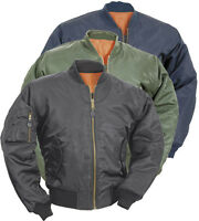 Ma1 Flight Bomber Military Surplus Air Force Pilot Security Combat Coat Jacket
