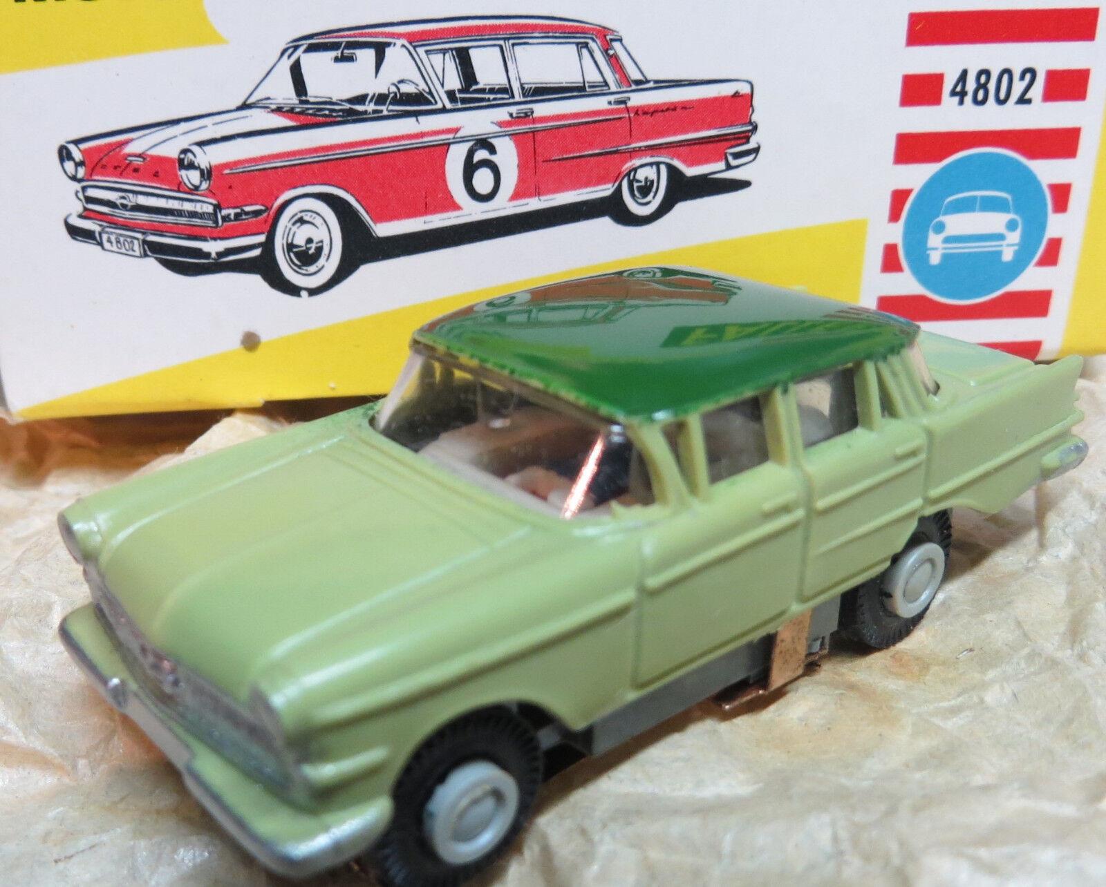 Faller Ams Rareza como Nuevo Opel Kapitän con Motor Bloque en Emb.orig.