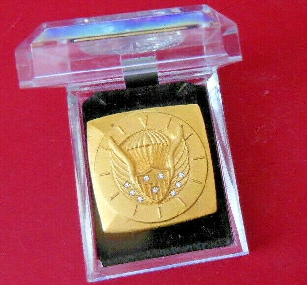 cieloDIVING  U.S. PARACHUTE ASSN.  120 HOUR gratuito Ftutti BADGE  NINE DIAMONDS