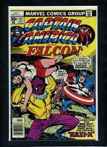 Captain-America-211-Newsstand-1977-Marvel-Jack-Kirby-Story-Art-Comic-Book