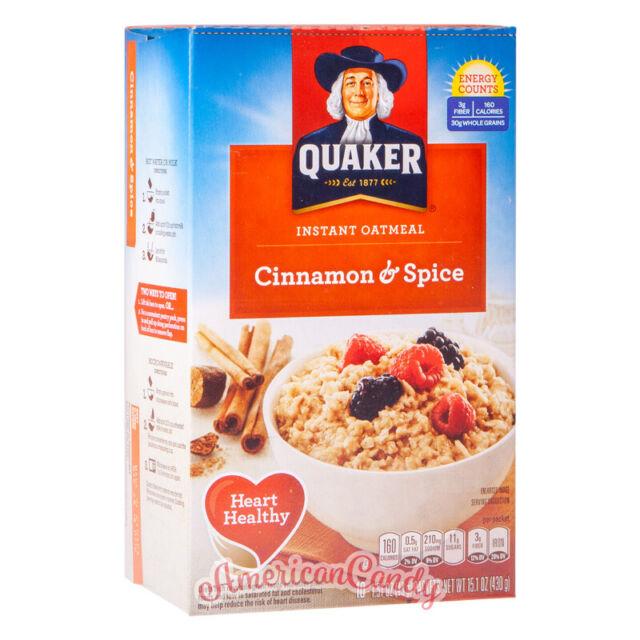1x 350g Quaker Oatmeal Cinnamon & Spice Ee.uu. ( 20,91€/ KG)