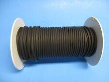 50 Feet Black 116 Id X 132 Wall X 18 Od Usa Made Latex Micro Tubing