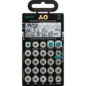 GéNéReuse Teenage Engineering Po-35 Speak Pocket Opérateur * Livraison Gratuite En Usa *-afficher Le Titre D'origine BéNéFique à La Moelle Essentielle