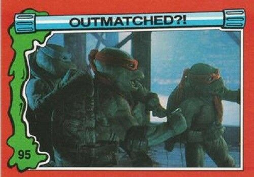 BASE TEENAGE NINJA TURTLES 2 BASIC  CARDS     BY TOPPS 1991 CHOOSE