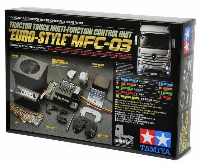 TAMIYA 56523 1 14th RC Tractor Truck MFC-03 EURO Multi Function Control Kit OZRC