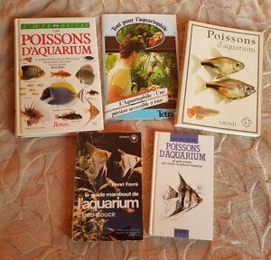 ???????????? Lot De Livres Pour Poissons D'aquarium D'eau Douce.???????????? Iiklaeth-10044340-687068958