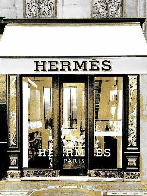Madeline Blake  Designer Entrance V Keilrahmen-Bild Leinwand Fashion-Boutique