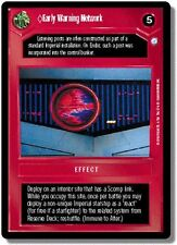 Star Wars CCG Endor DS Rare Early Warning Network
