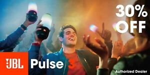 JBL Pulse 3 Waterproof Bluetooth Speaker with 360° Lightshow *Authorized Dealer*