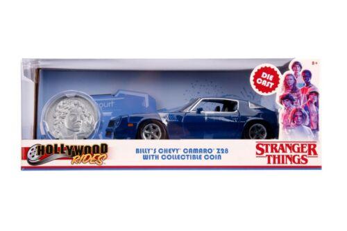 Jada Hollywood Rides Stranger Things Billy/'s 1979 Chevy Camaro Z28 1:24 31110