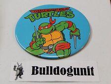 "Awesome 1980/'s BUTTON PIN Teenage Mutant Ninja Turtles Large Size 6/"""